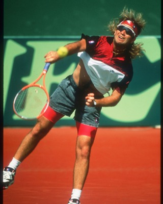 Andre Agassi look